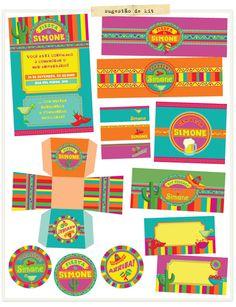 sugestão de kit para festa mexicana