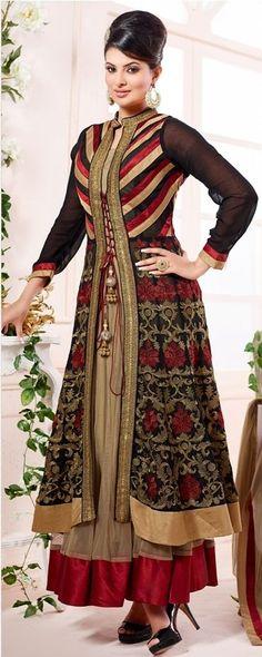 SF Designer Anarkali Party Indian Pakistani Salwar Kameez Bollywood Wear Ethnic  #Lookbollywood #BollywoodSalwarKameez