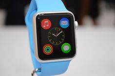 "Apple Watch from later this month.""The response to Apple Watch has surpassed our expectations in every way, and we are thrilled to bring it to more customer Iphone 6, Blog Iphone, Iphone Watch, Apple Watch Update, Apple Watch Apps, New Technology Gadgets, Android Technology, Samsung Gear Smartwatch, Operating System"