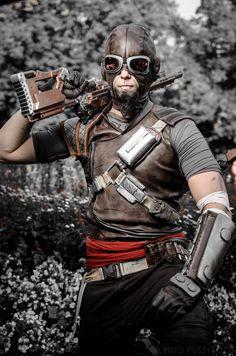 Flawless Mordecai (Borderlands 1-2) cosplay