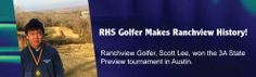 RHS Golfer Makes Ranchview History Stories Of Success, Farmer, History, How To Make, Historia, Homesteads