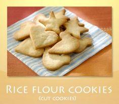 Rice flour cookies (cut cookies)
