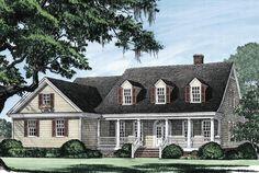 Casa House Plan 7922-00147 - Cape Cod Plan: 2,151 Squar8e Feet, 4 Bedrooms, 3 Bathrooms