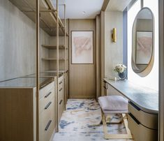 Get amazed by the list of the best luxury interior design projects by Joyce Wang Studio. Contemporary Interior Design, Luxury Interior Design, Best Interior, Boutique Interior, Wardrobe Closet, Wardrobe Design, Closet Designs, Decoration, Home Decor