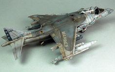 USMC A/V-8B Harrier II. Unknown scale