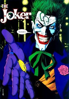 While the Joker's criminal activities have certainly not been limited to the following by far, he has amassed a sizable number of acts that distinguish him from the regular villain population. Description from misc.thefullwiki.org. I searched for this on bing.com/images 3 Jokers, Jokers Wild, Three Jokers, Joker Comic, Joker Art, Comic Books Art, Comic Art, Fotos Do Joker, Joker Photos