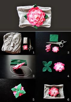 The Cutest Baby DIY Projects / Baby Flower Headband