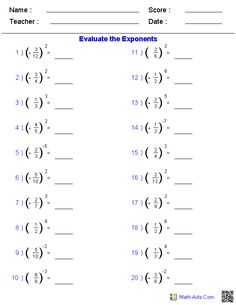 Printables Ged Worksheets equation worksheets and integers on pinterest solving fractions with exponents worksheets