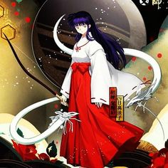 Kikyo and her spirits from Inuyasha Inuyasha And Kikyo, Kagome Higurashi, Mai Hime, Manga Anime, Anime Art, Anime Guys, Cute Anime Character, Slayer Anime, Anime Comics