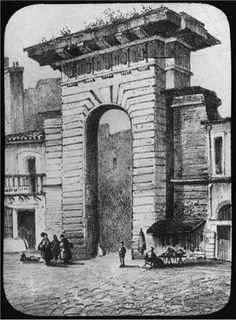 Bordeaux Porte de la Monnaie Monuments, Bordeaux France, Brooklyn Bridge, Cities, Photos, Travel, Childhood Memories, Pennies, Pictures