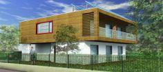 Progetto tipologico SF02 edificio alte prestazioni in modalità OFF-GRID.