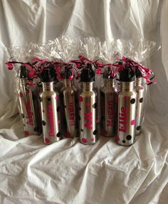 Personalized Water Bottles  Great Cheer Team by AtoZVinylCreations, $12.00
