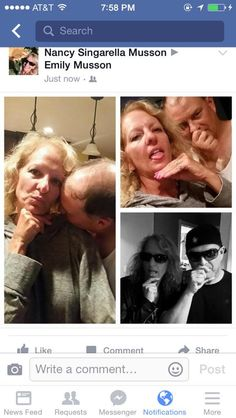 Emily Musson's parents decided to lovingly tease their daughter by recreating Emily's selfies with her boyfriend.