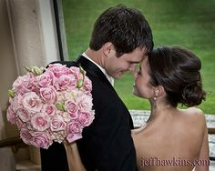 Personal Flowers, Wedding Floral, Wedding, Wedding Bouquet Ceremony, Soft Pink Rose, Jeff Hawkins Photography