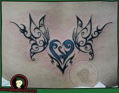 @Jennifer Douglas   heart and butterflies