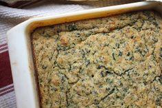 Spinach & Cheddar Cornbread