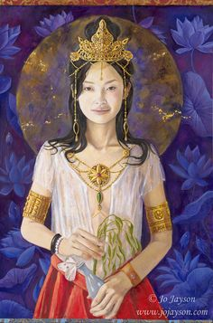 Guan Yin, Mother of Mercy and Compassion by Jo Jayson