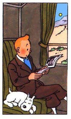 La vie de Tintin