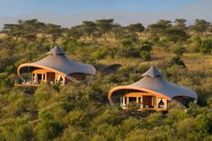 Richard Branson Opens Mahali Mzuri Safari Camp in Kenya