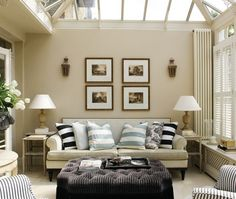 I like the different lines in this room, gives it a fresh look.
