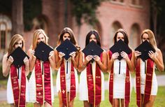 Senior Photos -- sorority graduation ceremony