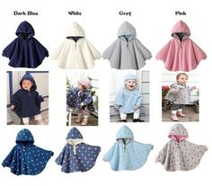New 2015 Hot Autumn Winter Baby Outerwear Child Coat Girl Coverall Fashion Infant Boy Coats Two Sides Wearing Children's Cloak