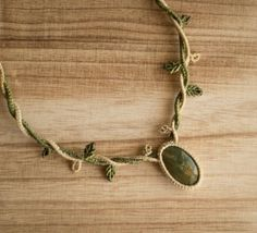 Collar de macramé collar bohemio de macramé por OuiClementine