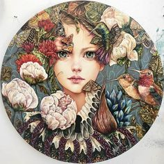 Fast delivery diy diamond painting fairy Needlework mosaic cross stitch flower picture of rhinestones diamond embroidery girl hashtags Art And Illustration, Mosaic Crosses, Diy Crystals, 5d Diamond Painting, Cross Paintings, Canvas Paintings, Cross Stitch Flowers, Cross Stitch Kits, Flower Pictures