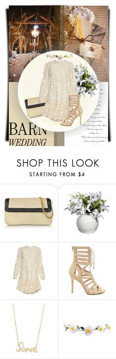 """Barn wedding"" by thestrawberryfields ❤ liked on Polyvore featuring Buti, Zimmermann, Sydney Evan, polyvorecontest, bestdressedguest and barnwedding"