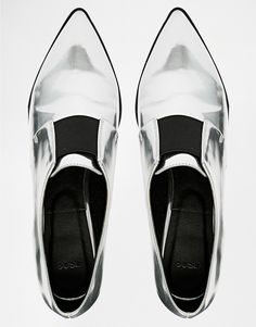 ASOS SOCIALLY Pointed Loafer Heels
