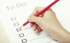 To Do Liste Planung Kindergeburtstag