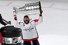 There Are No Losers in the Capitals' Stanley Cup Victory over the Golden Knights Stanley Cup Playoffs, Stanley Cup Finals, Alexander Ovechkin, Hockey Pictures, Alex Ovechkin, Hockey Memes, Golden Knights, Washington Capitals