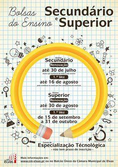 Bolsas de Ensino - Secundário e Superior | Portal Elvasnews