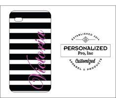 Black Stripe w/Name Design by PersonalizedPro