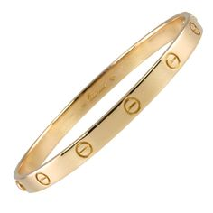 $4800 CARTIER Love Bangle Size 20 I am still waiting for this gift! I've wanted it for FOREVER...2 OF THEM WOULD BE SOOO LOVELY. : )