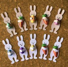 Hugging Bunny/Rabbit Easter treats - SVG / Cut File for Silhouette or Cricut basteln, Daniela Butterfly, basteln Hase / Kaninchen Ostern . Bunny Crafts, Easter Crafts For Kids, Rabbit Crafts, Easter Candy, Easter Treats, Spring Crafts, Holiday Crafts, Halloween Crafts, Cricut
