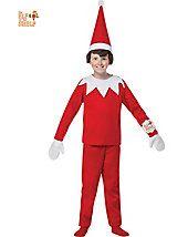 Elf on the Shelf Boy's Costume - elf-costumes - christmas