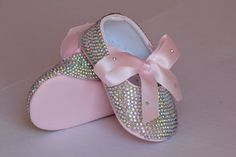 Pink Baby Swarovski Rhinestones shoes