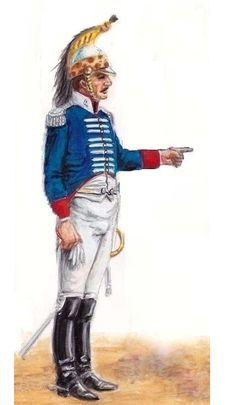 Caballería de Línea del Infante 1815