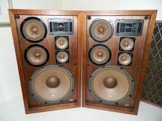 Rare Vintage Pioneer CS-88A Speakers FB Drivers  #Pioneer