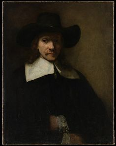 Portrait of a Man  (Rembrandt van Rijn) (Dutch, Leiden 1606–1669 Amsterdam)  Date: ca. 1655–60