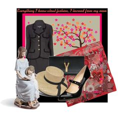 A fashion look from May 2011 featuring black patent leather pumps, yves saint laurent handbags and hermes scarves. Browse and shop related looks. Saint Laurent Handbags, Black Patent Leather Pumps, Yves Saint Laurent, Shoulder Bag, Day, Polyvore, Fashion, Moda, La Mode
