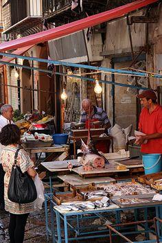 Fish Market, Palermo, Sicily, Italy #palermo #sicilia #sicily