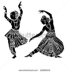Indian woman. - stock vector