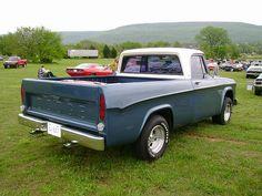 1968 Dodge D100 by splattergraphics, via Flickr