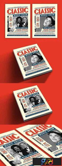 Job Fair Event Flyer Template PSD A4 Flyer Design Templates - labour day flyer template