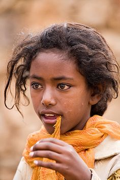 Eritrea. She reminds me of all the children I played with as a child so many summers ago.