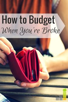 Setting and living on a budget when you're strapped for cash is difficult but not impossible. Here's four simple steps to making the impossible possible.