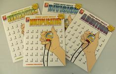 Timed Math Drills - Set of four books | Main photo (Cover)