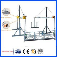 China 500kg zlp manual suspended platform/ gondola/ swing stage     More: https://www.ketabkhun.com/platform/china-500kg-zlp-manual-suspended-platform-gondola-swing-stage.html